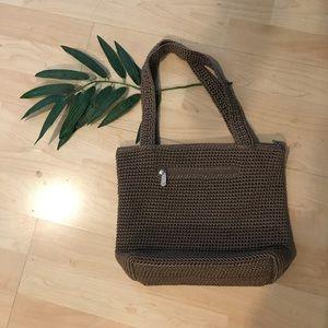⚡️ The Sak Taupe Crochet boho Bag